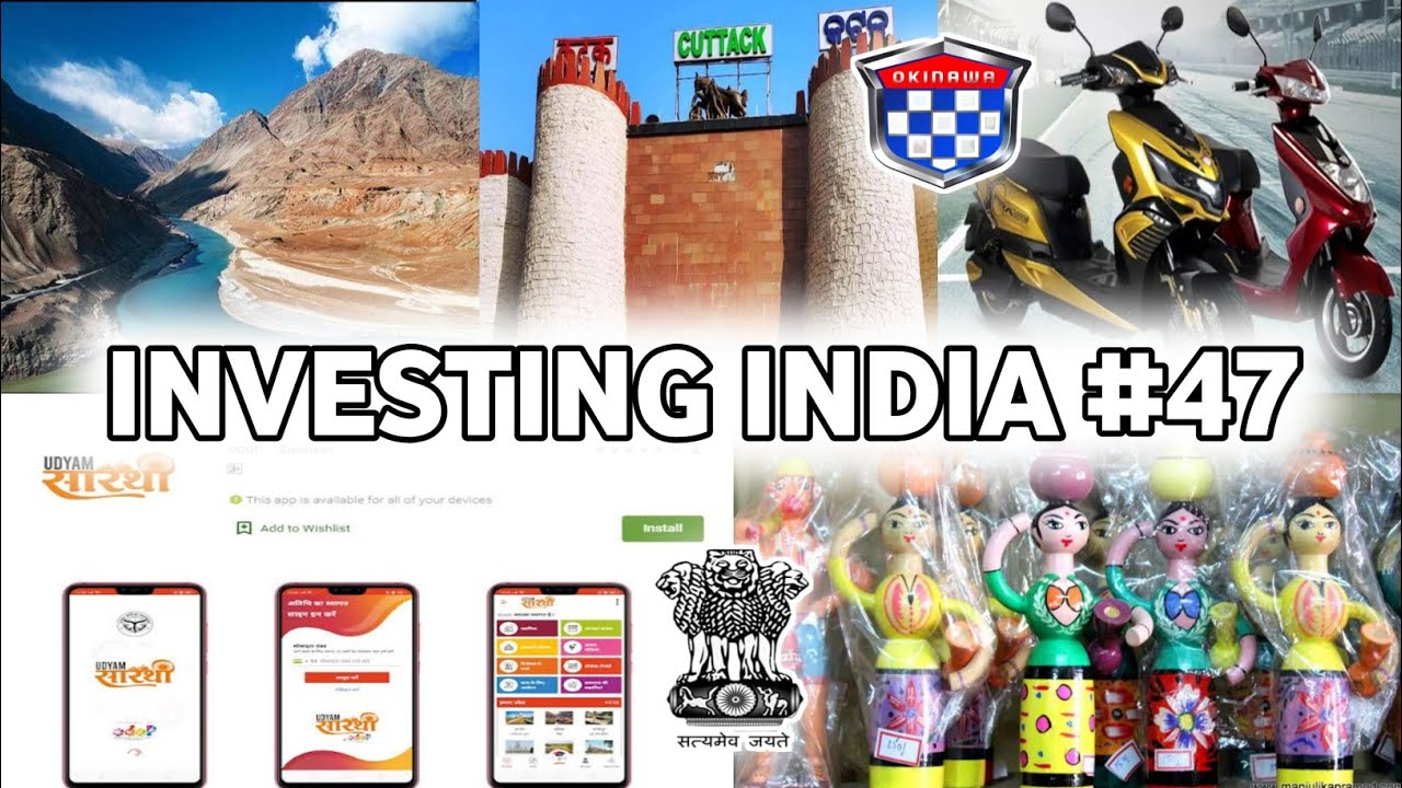 Investing India #47 -Kargil & Leh International tourism hub, Toy Industry policy, UP Employment App,