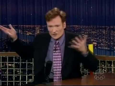 Conan O'Brien 'Hates My Homeland (Angry Letters) 8/10/04