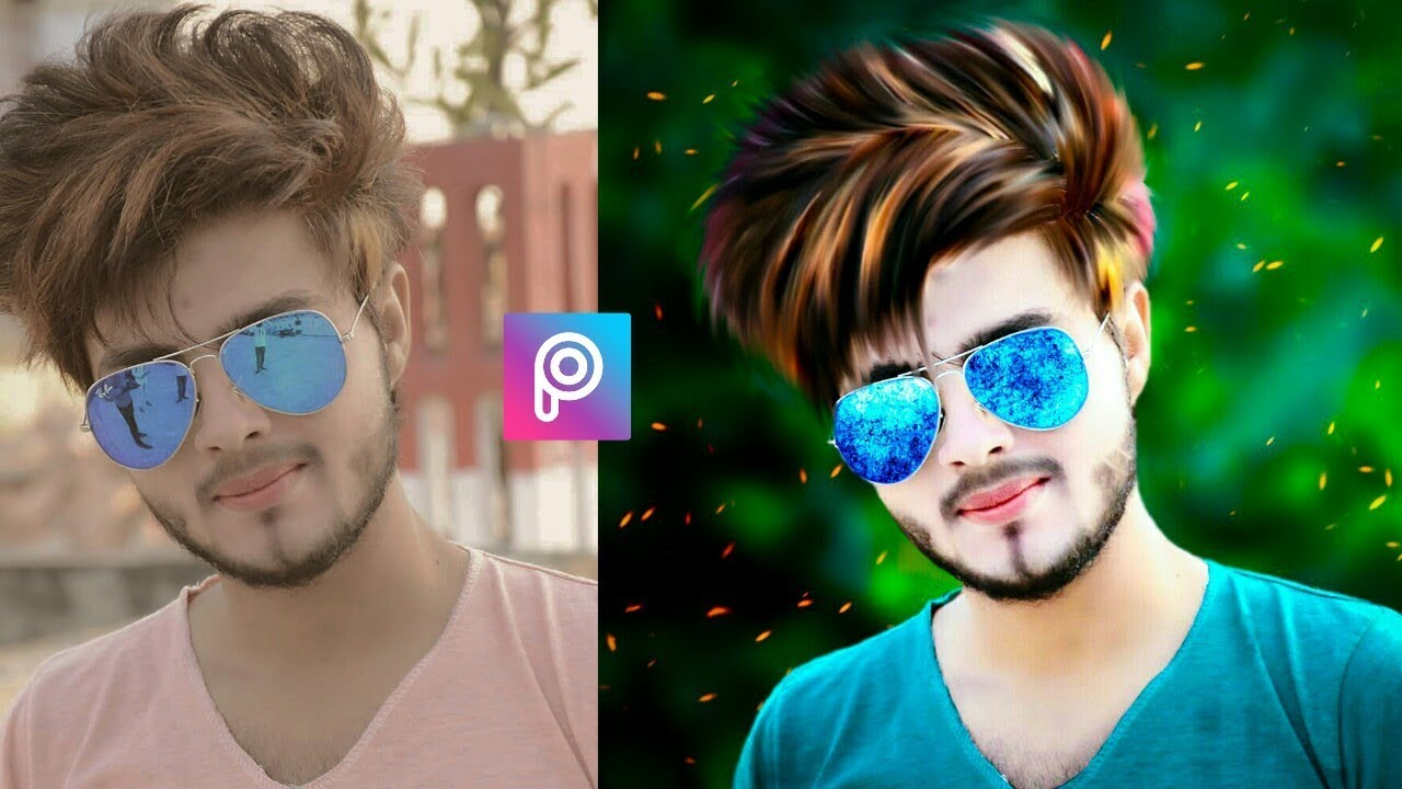 Latest Hair Style: Picsart New Hairstyle Editing