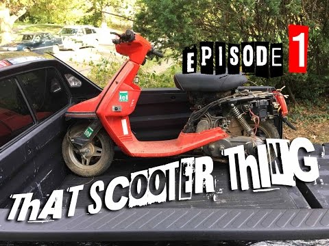 That Scooter Thing Ep.1 - Introducing the Yamaha CA50 Project