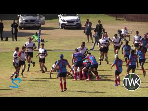 School Rugby Action – 1st Ermelo vs Ligbron 27-05-17