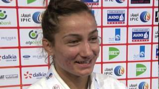 Interview - Majlinda Kelmendi -52 Kg Gold Medal Abu Dhabi 2014