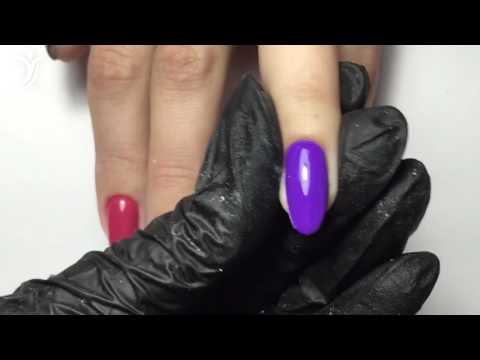Опил 4 форм на натуральных ногтях квадрат, мягкий квадрат, овал и миндаль