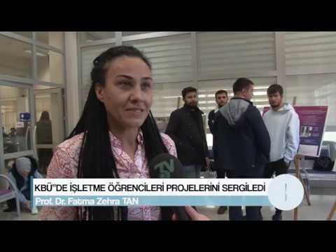KBÜ''DE İŞLETME ÖĞRENCİLERİ PROJELERİNİ SERGİLEDİ