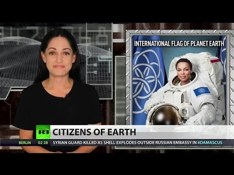 See Planet Earth's Flag: New World Order has begun