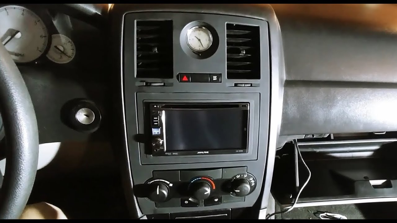 2005-2010 Chrysler 300, IVE-W530 install - YouTube on ford e350 wiring harness, chrysler radio wiring harness, ford f100 wiring harness, dodge dart wiring harness, ford bronco wiring harness, buick wiring harness, dodge neon wiring harness, honda pilot wiring harness, mazda 3 wiring harness, ford f250 wiring harness, dodge intrepid wiring harness, chrysler 300 wiring schematics, dodge journey wiring harness, chrysler 300 speaker wiring diagram, 2006 chrysler wiring harness, jeep commander wiring harness, chrysler engine wiring harness, kia spectra wiring harness, hummer h2 wiring harness, amc amx wiring harness,