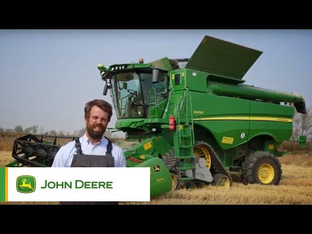 John Deere - S670 su riso - Testimonianza di Filippo Giambellini
