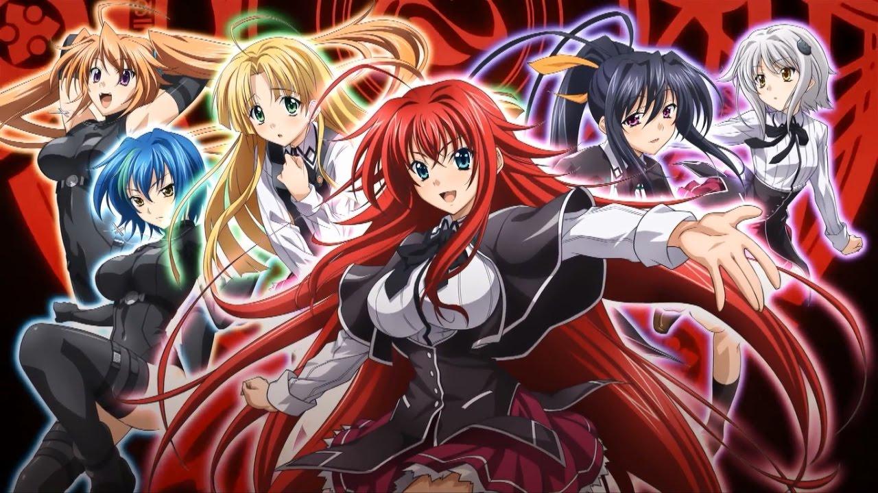 high school dxd: season 4 airdate and updates! - anime - onehallyu