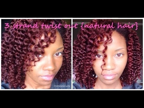 3 strand twist stretched