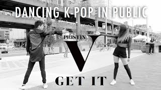 "[Dancing K-Pop in Public]: PRISTIN V - ""Get It (네 멋대로)"" Dance Cover 🔫   Eric Tang"