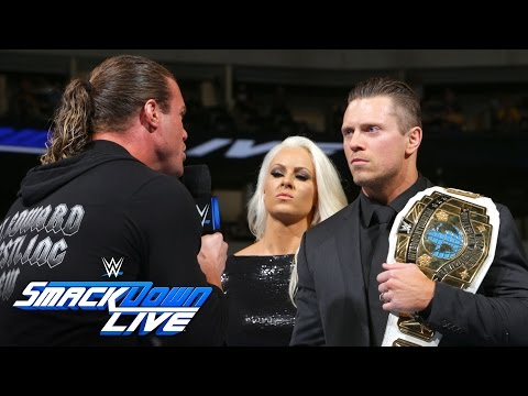 Dolph Ziggler and The Miz engage in a war of words: SmackDown Live, Aug. 30, 2016