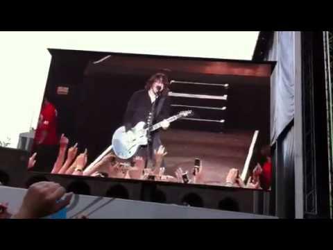 Foo Fighters at Stockholm Stadium 110622