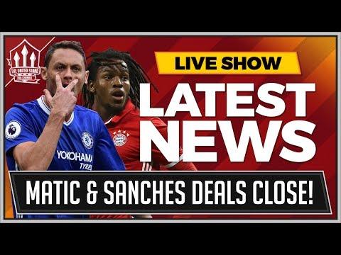 MATIC To MAN UTD For 50 Million! Renato SANCHES Loan! MAN UTD Transfer News