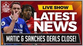 MATIC To MAN UTD 50 Million Bid! Renato SANCHES Loan! MAN UTD Transfer News