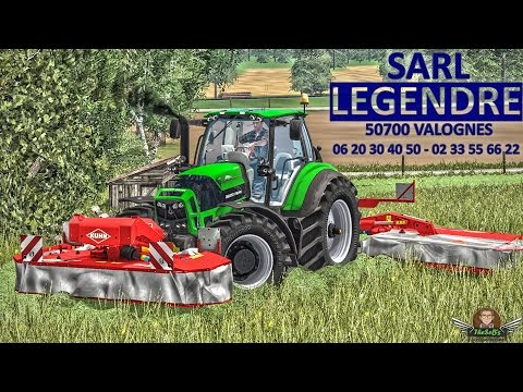 Farming Simulator 2015 - SARL LEGENDRE - Fauchage & Fanage (Mowing/Haymaking)