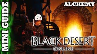 Black Desert Online - Mini Guide - Alchemy Generalistics