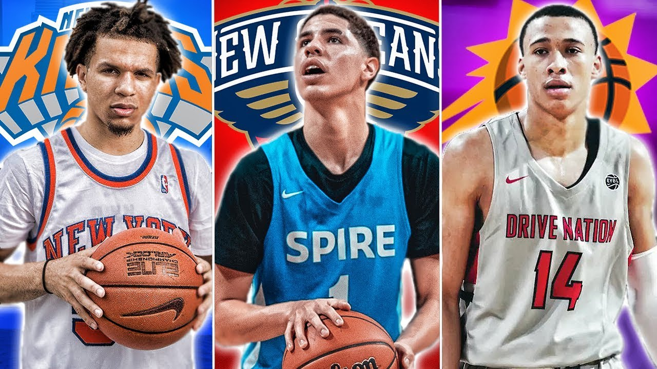 Nba 2020 Draft Lamelo Ball To Be The No 1 Pick What Will The Knicks And Others Pick