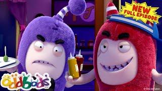 ODDBODS | Food Feud | NEW Full Episode | Cartoons For Children