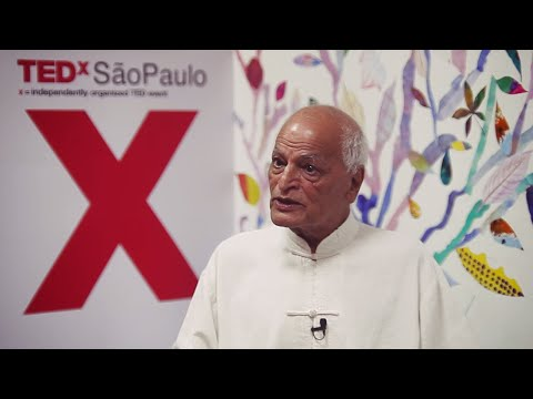 We are Nature | Satish Kumar | TEDxSaoPauloSalon