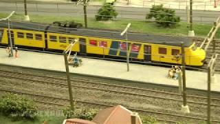 Die schönsten Züge und Lokomotiven in der Miniworld Rotterdam