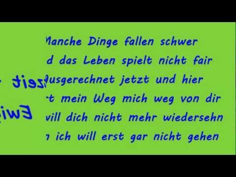 Echtzeit - Stückchen Ewigkeit (Lyrics)