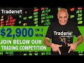Day Trading for $2,900 in 3 minutes & the Trading Competition!