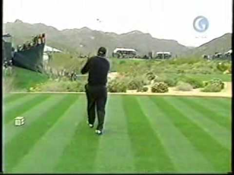 Angel Cabrera's Golf Swing