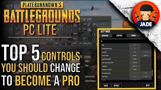 Top 5 Keyboard Control Settings you should change in PUBG PC Lite to become a PRO Player 🔥🔥