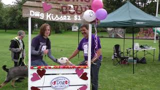 2017 Lewis County Mutt Strut Dog Kissing Booth