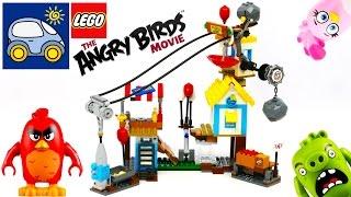 Лего Энгри Бёрдс Разгром Свинограда с Lego Angry Birds 75824. Картонка