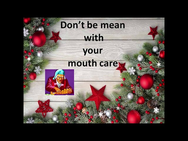 Top tips for Teeth at Christmas