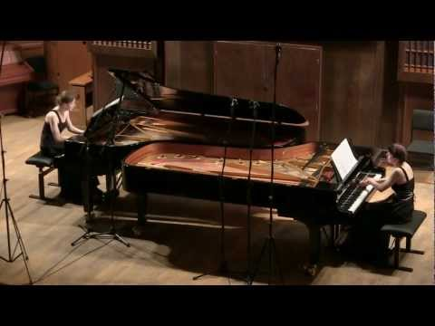 Lutosławski , Variations on a theme by Paganini for two pianos