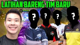 JESS LATIHAN BARENG TIM BARU BUAT TANDING BESOK!! - Mobile Legends