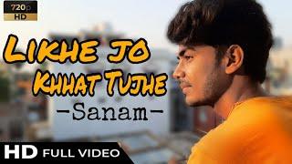 Likhe Jo Khat Tujhe-Sanam    Cover By Diamond Kings Entertainment    Aditya Jaiswal    2020 New Cove