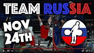 Team Russia - 2015 WWC Training Hall (Nov 24)