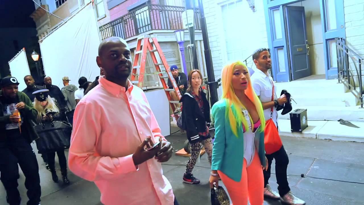 Download Behind The Scenes: Nicki Minaj feat. Cassie - The Boys (Video)