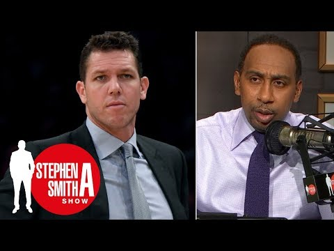Luke Walton won't last the season' if Lakers slow start continues | Stephen A. Smith Show