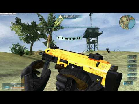 WARROCK MP5K MP7A1 SPECTRE MP7 GOLD [HD]     by HEAD-SH0OT