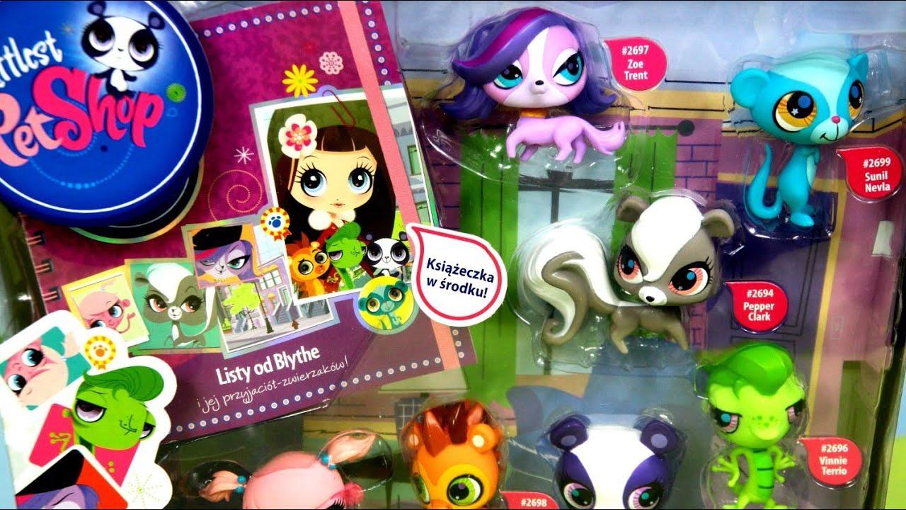littlest pet shop meet the pets toy set