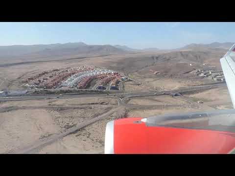 Aterrizaje FUERTEVENTURA 01-12-2015/Landing FUERTEVENTURA- Iberia Express