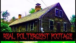 WARNING Real Poltergeist Footage Caught On Camera Inside Haunted House