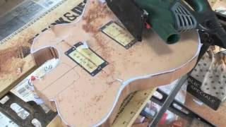 ローリングストーンズのキースリチャーズ氏も使用していた、ted newman jonesのギターを参考にして製作したオリジナルモデルです。 newmanではなく、...