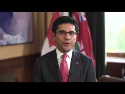 2017 World Architecture Day - Attorney General of Ontario, Yasir Naqvi