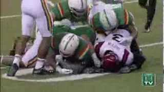 Hawaii Football Highlights vs. San Diego State 11-16-13