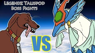Maza the Hellhound takes on the first of the Talispod bosses, the Hurricane/Tornado Kingdragon! Translations (thanks Legendz Discord!): 1:07- The name of the ...