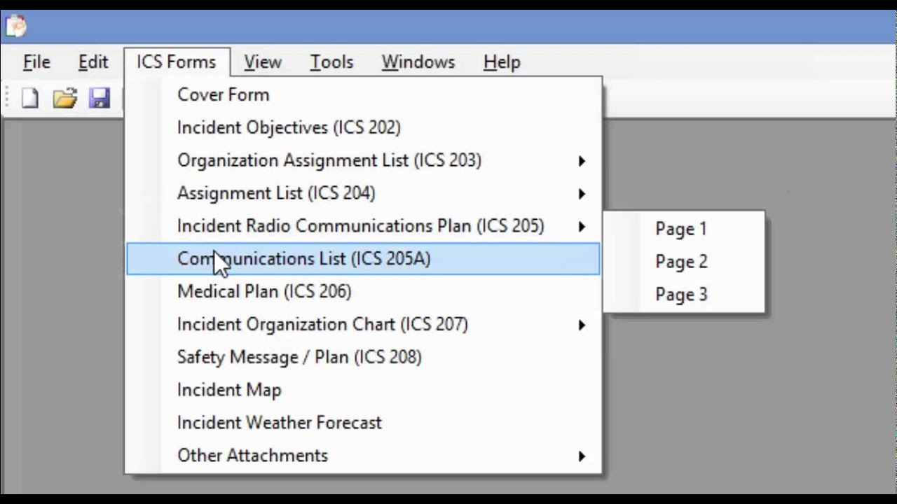 ICS Forms Management Software Introduction - YouTube