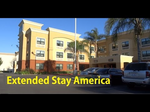 Extended Stay America Anaheim Hills Video Review Studio Hotel