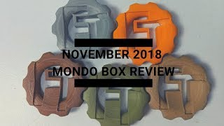 November 2018 Mondo Box Unboxing and Review