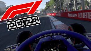PUNKTE!  ---Aserbaidschan🇦🇿--- | Let's Play F1 2021 | 4K | PS5 | Kasel🇨🇭