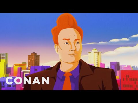 "Conan&39;s ""Spider-Man: Into The Spider-Verse"" Cold Open - CONAN on TBS"
